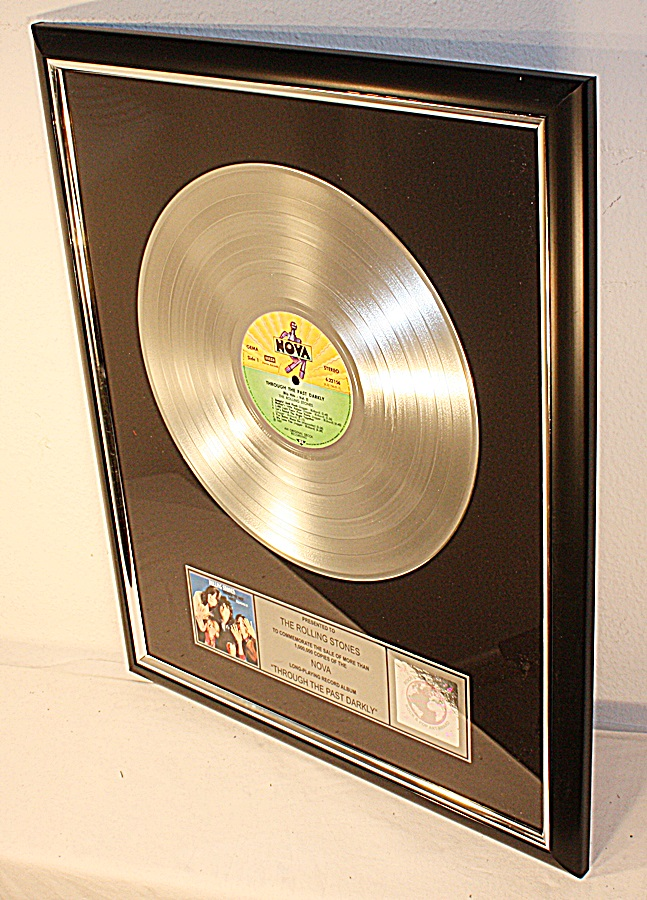 Rolling-Stones-Through-The-Past-Darkly-Platin-Record-Award-gold